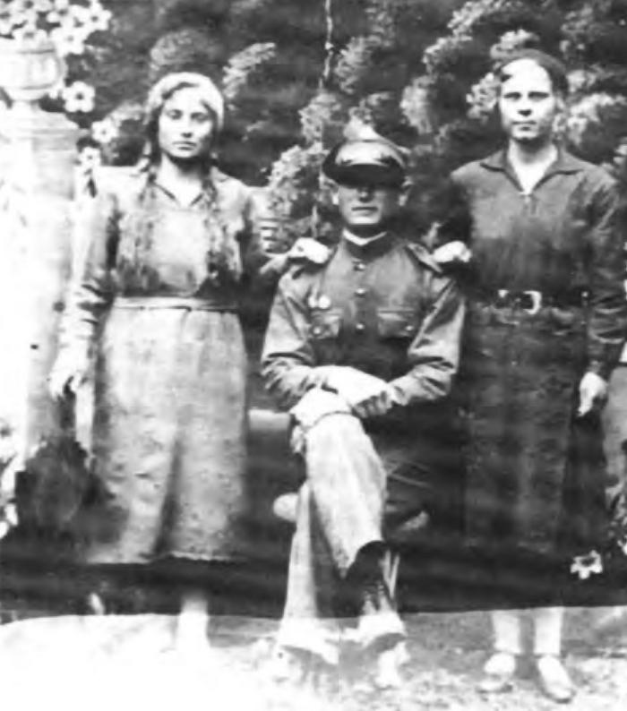 Kazia Dobrowolska na fotografii wykonanej jeszcze przed II wojną światową.