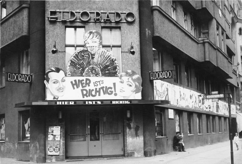 Zanim zamknęli go naziści Klub Eldorado był głównym miejscem spotkań berlińskich homoseksualistów (Bundesarchiv, /CC-BY-SA 3.0)