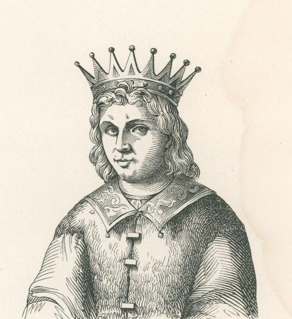 Wincenty Kadłubek twierdził, że Lestek III miał pokonać samego Cezara (domena publiczna).