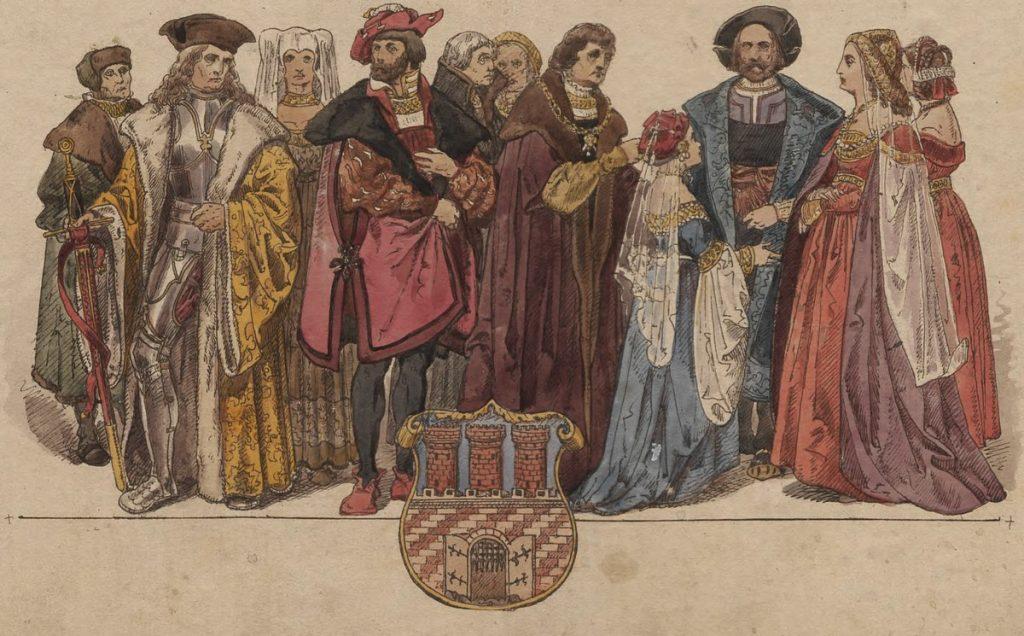 U progu nowożytności w Koronie i Wielkim Księstwie Litewskim mieszkało około 8% ludności Starego Świata (Jan Matejko/domena publiczna).