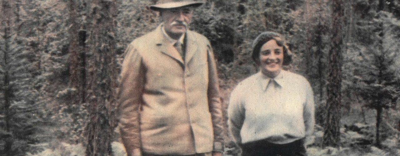 Ignacy Mościcki z żoną Marią na zdjęciu 1935 roku (domena publiczna).