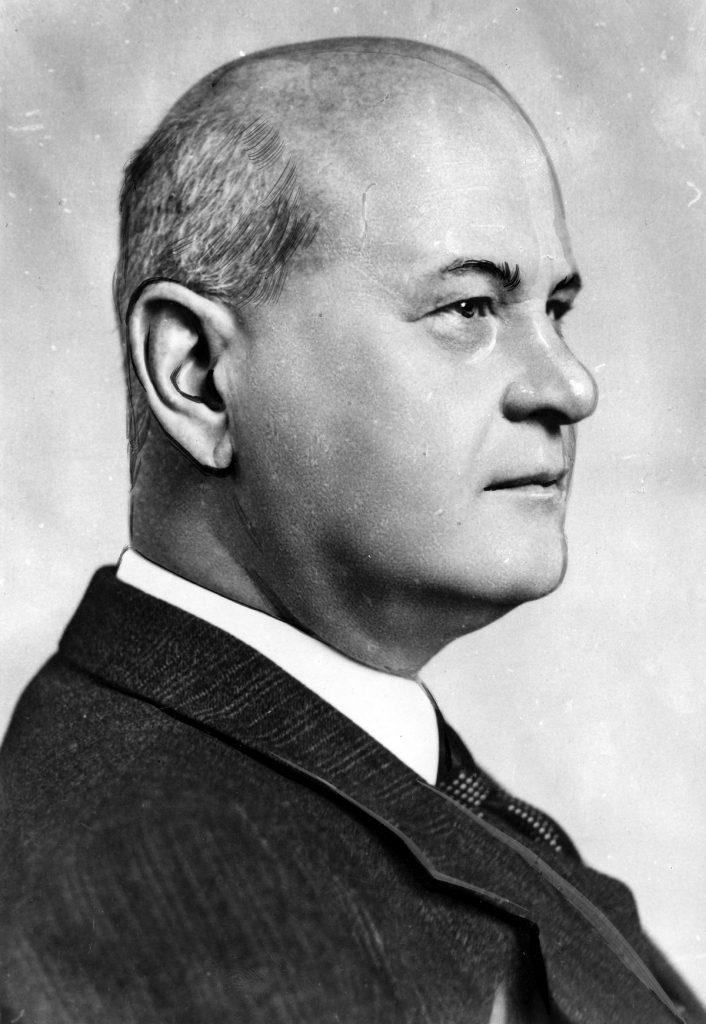 Minister sprawiedliwości Rzeszy Otton Georg Thierack (domena publiczna).