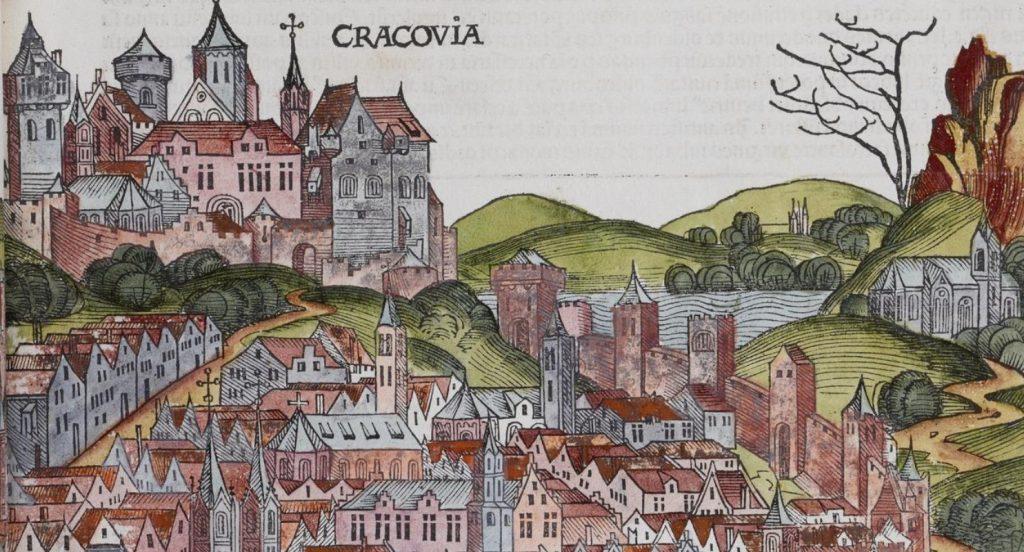 W średniowiecznym Krakowie na stos mógł trafić również podpalacz (domena publiczna).