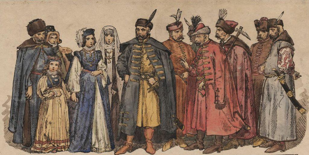 W drugiej połowie XVI wieku Rzeczpospolita Obojga Narodów miała około 7,5 miliona mieszkańców (Jan Matejko/domena publiczna).