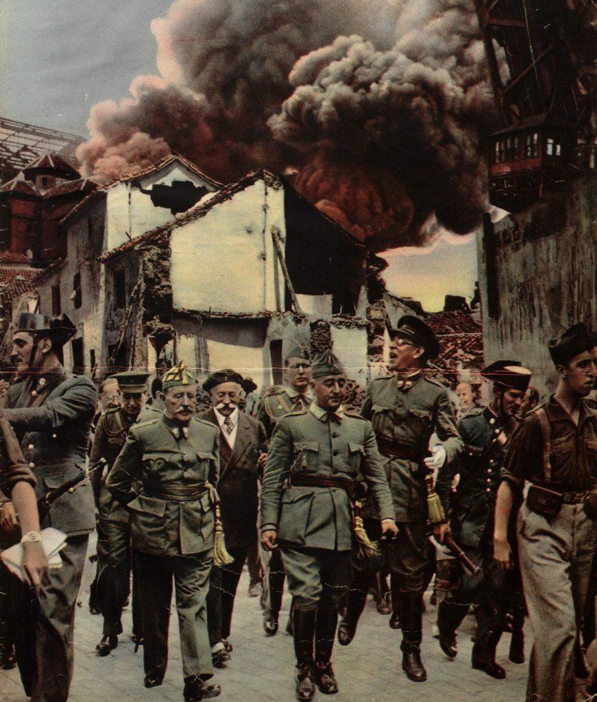 To sam Franco prosił o przesyłanie niemieckich czołgistów na Półwysep Iberyjskie (domena publiczna).