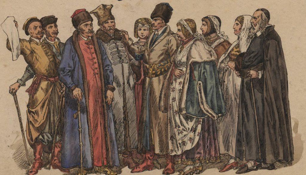 U Schyłku istnienia Rzeczpospolitej Obojga Narodów Polacy stanowili około 60% ludności (Jan Matejko/domena publiczna).