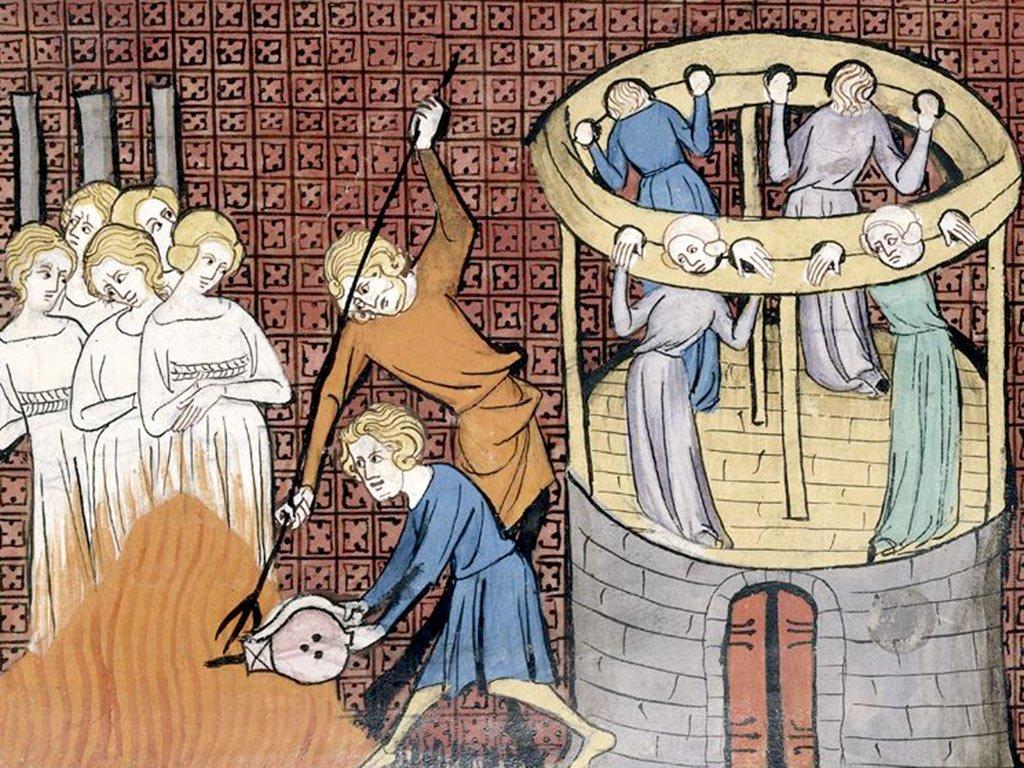 W Szwajcarii już w XV wieku na stos trafiły setki kobiet oskarżonych o czary. Ilustracja poglądowa (domena publiczna).