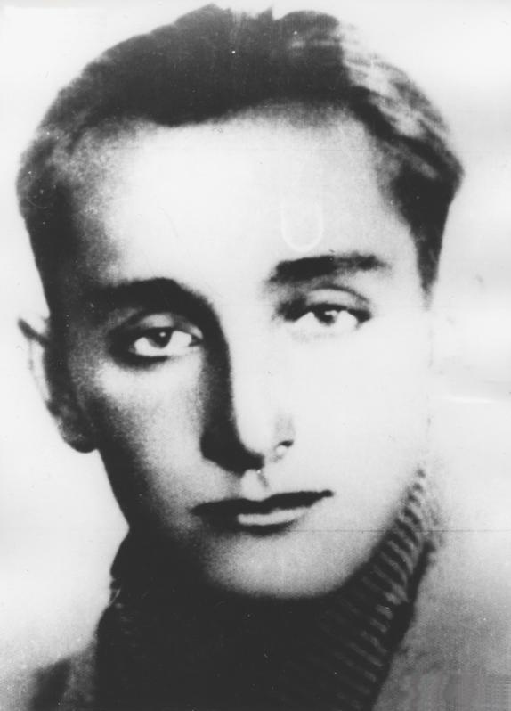 """Waldemar Szwiec """"Robot"""". To on dowodził partyzantami operującymi w rejonie Końskich (domena publiczna)."""