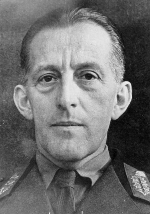 Wilhelm Ritter von Thoma już jako generał na zdjęciu z 1942 roku (Bundesarchiv/CC-BY-SA 3.0).