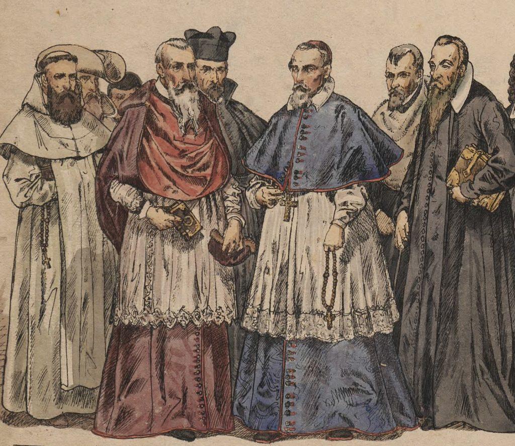XVII-wieczne duchowieństwo zdecydowanie nie miało dobrego zdania na temat chłopów (Jan Matejko/domena publiczna).
