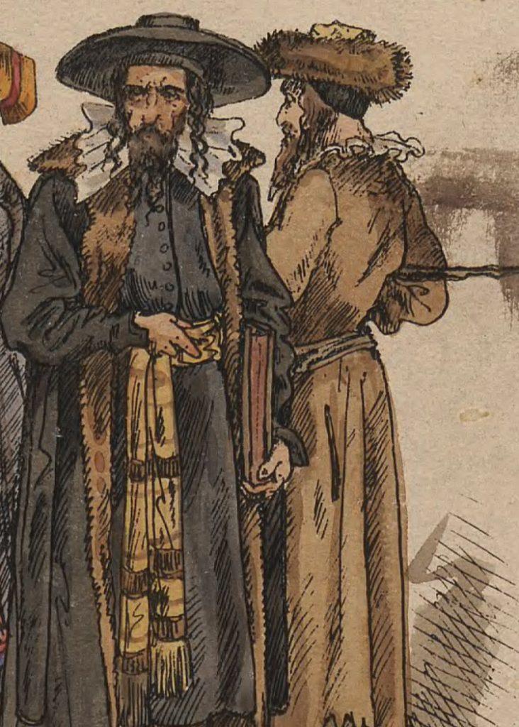 XVII wieczni Polscy Żydzi według Jana Matejki (domena publiczna).
