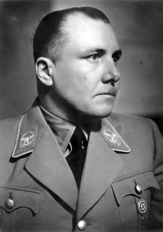 Zaufany zausznik Adolfa Hitlera Martin Bormann (Bundesarchiv/Friedrich Franz Bauer/CC-BY-SA 3.0).