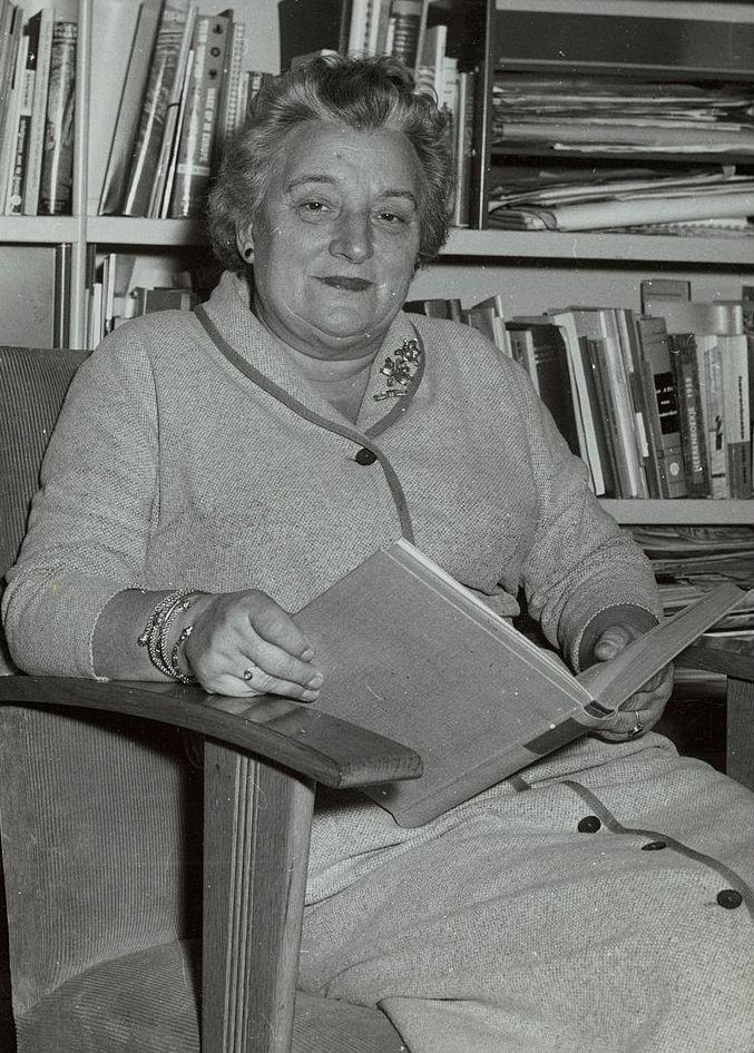 Geertruida Wijsmuller-Meijer na zdjęciu wykonanym już po II wojnie światowej (domena publiczna).