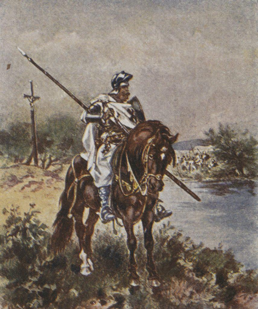 Krzyżacy zdobyli wiele zamków zupełnie bez walki (Juliusz Kossak/domena publiczna).