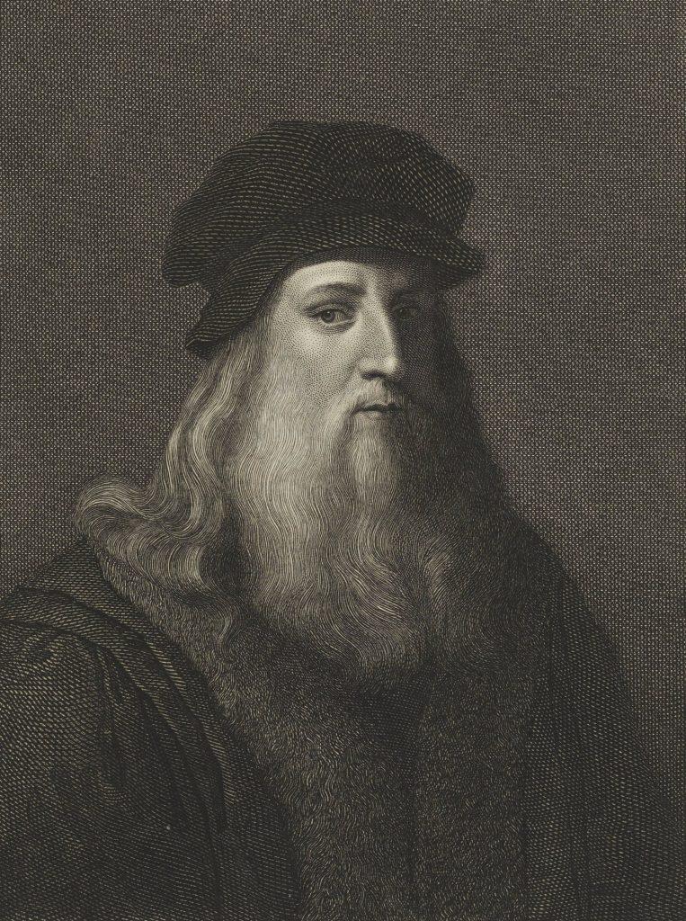 Leonardo da Vinci był samoukiem, który całe życie pisał od prawej do lewej (domena publiczna).