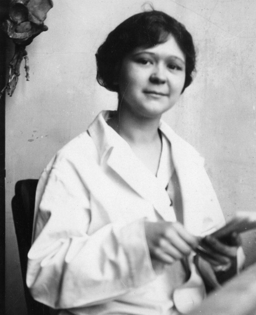Mildred Trotter na zdjęciu z okresu międzywojennego (domena publiczna).
