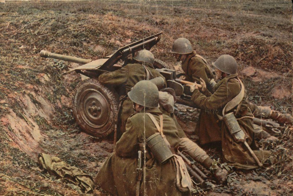 Ogień polskiej artylerii pod Mokrą okazał się morderczo skuteczny. Zdjęcie poglądowe (domena publiczna).