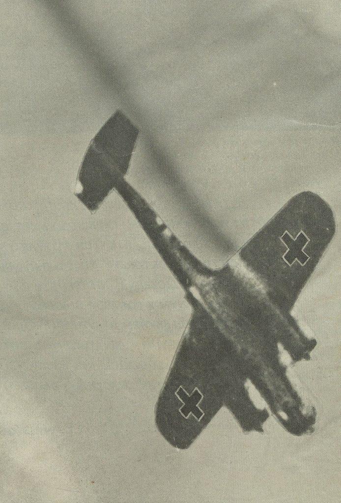 15 września 1940 roku zgłoszono zestrzelenie 185 samolotów Luftwaffe, a tak naprawdę Niemcy stracili tego dnia jedynie 61 maszyn (domena publiczna).