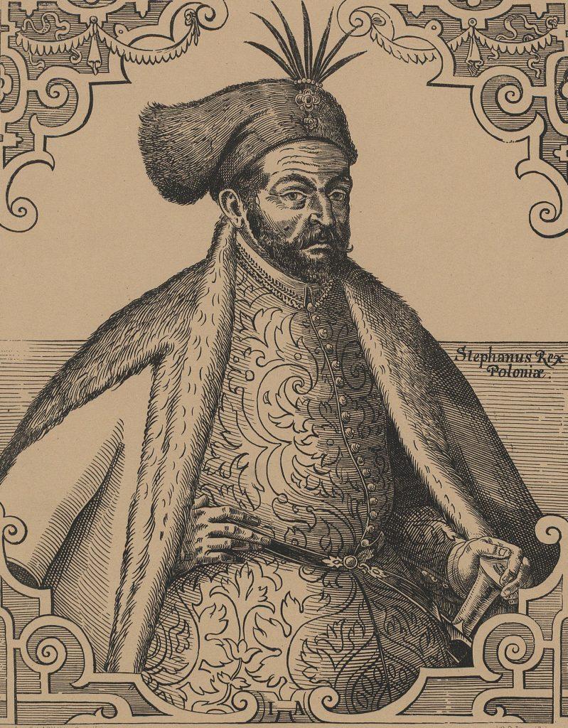 Stefan Batory i jego krótka broda (Jost Amman/domena publiczna).
