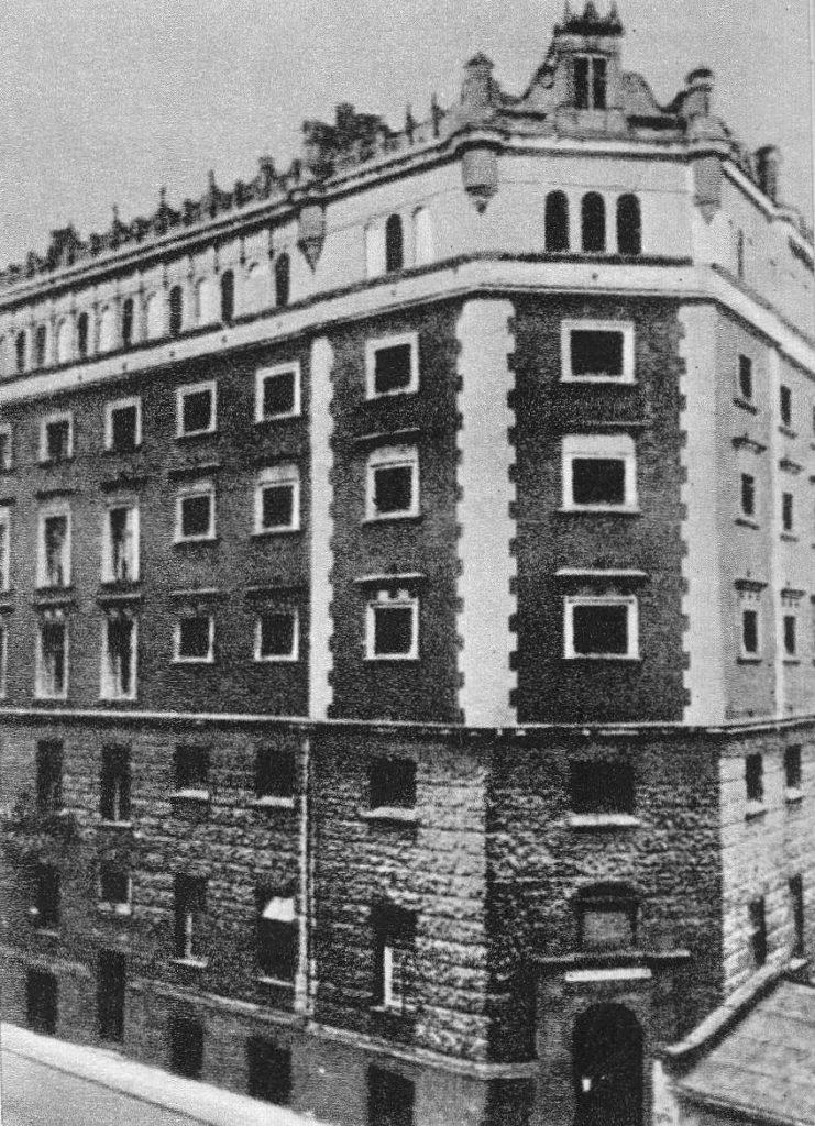 Budynek Aresztu Centralnego  przy ulicy Daniłowiczowskiej 7 (domena publiczna).