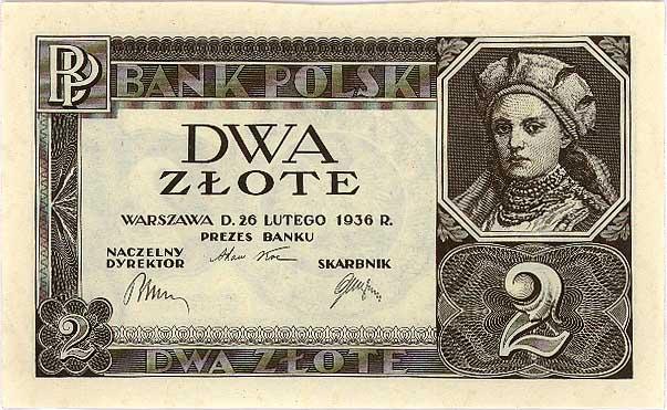 W dużym przybliżeniu jeden złoty z lat 1933-1939 są warte 10 obecnych złotych (domena publiczna).