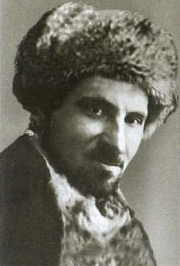 Jeden z ojców założycieli Republiki Łokickiej Konstantin Pawłowicz Woskobojnik (domena publiczna).