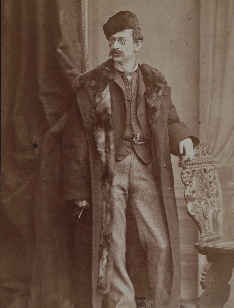 Mąż Heleny Modrzejewskiej Karol Chłapowski na zdjęciu z 1882 roku (domena publiczna).