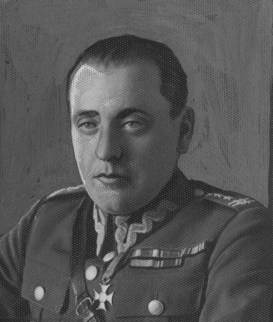 Pułkownik Maczek na zdjęciu z pierwszej połowy lat 30. XX wieku (domena publiczna