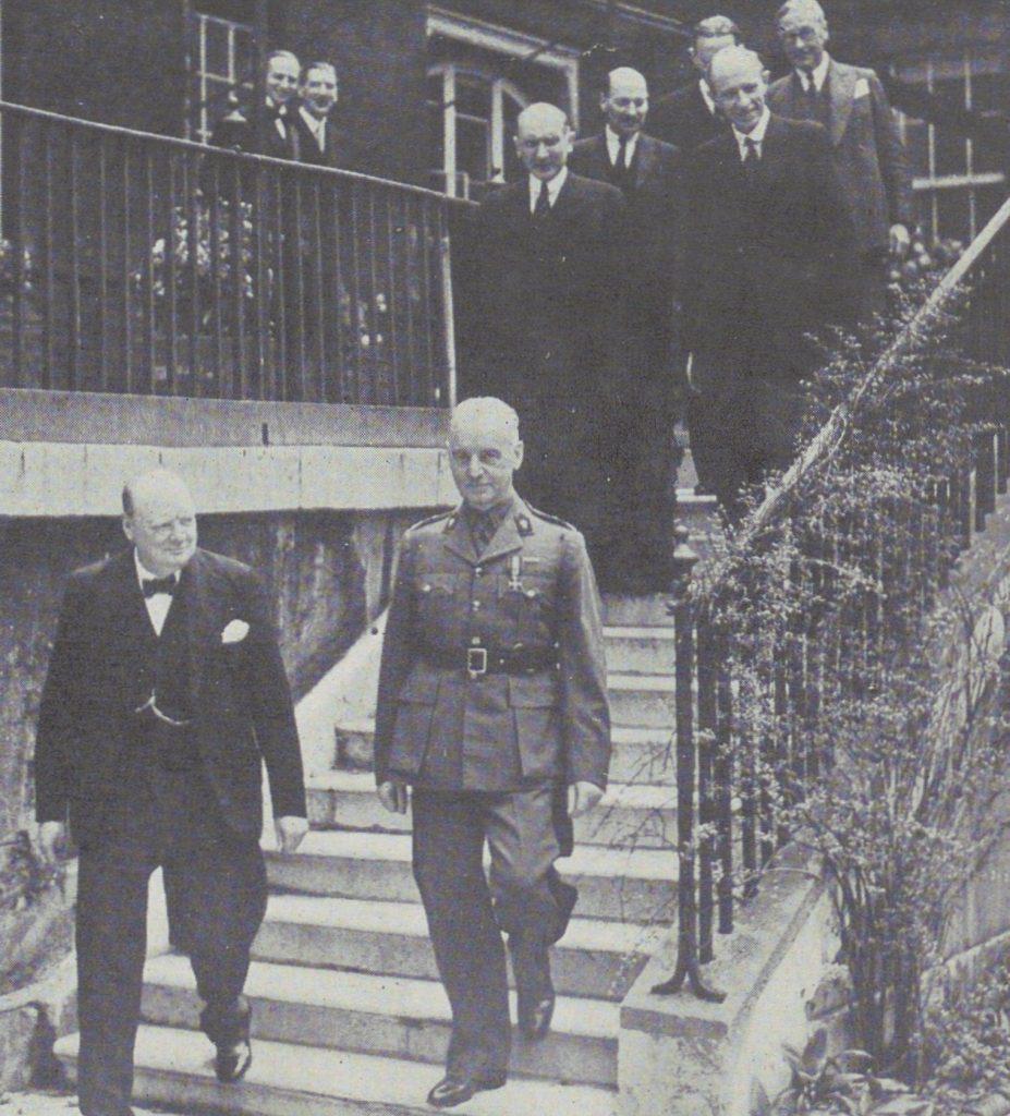 Władysław Sikorski i Winston Churchill (domena publiczna).