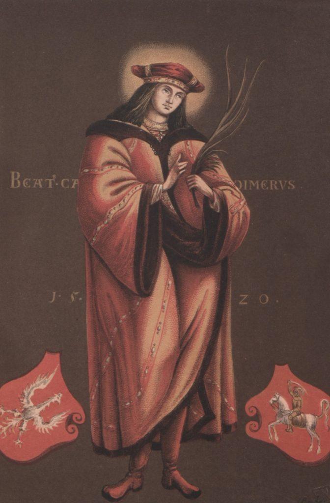 Kazimierz zmarł  na gruźlicę. Później został świętym Kościoła katolickiego (Jędrzej Brydak/domena publiczna).