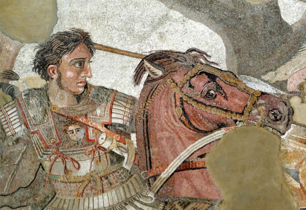 Aleksander Wielki zmarł w wieku niespełna 33 lat (domena publiczna).