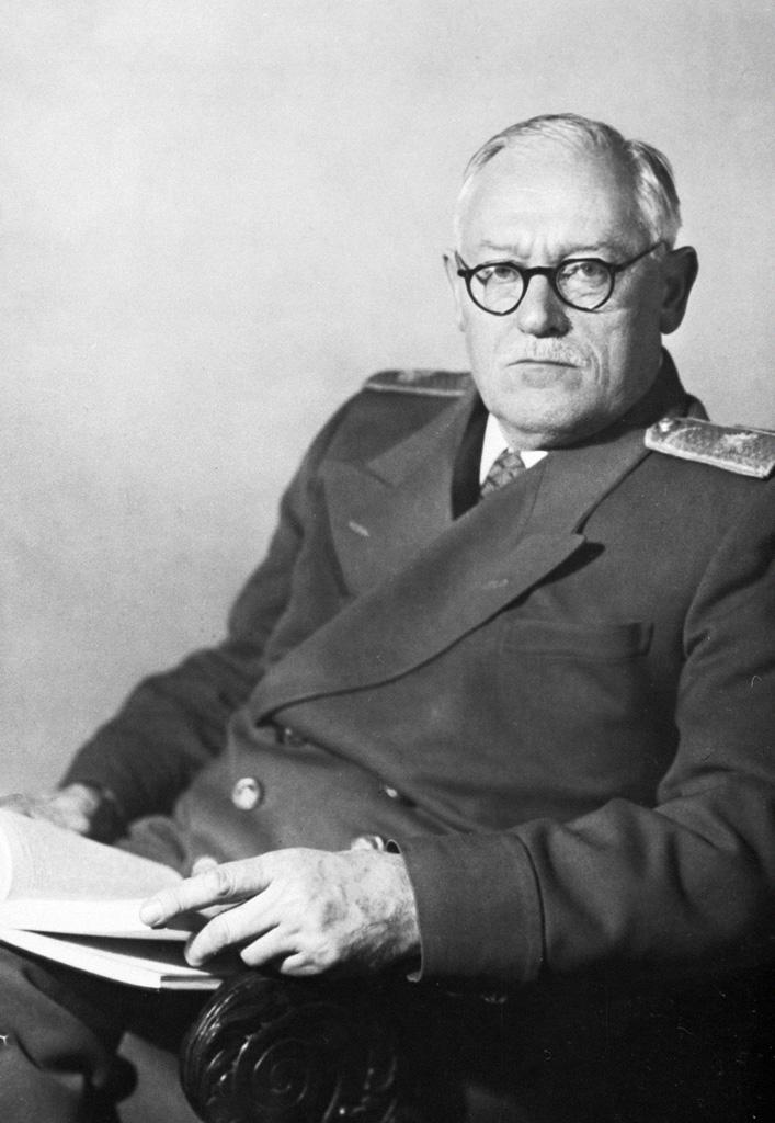 Andriej Wyszyński na zdjęciu z 1950 roku (RIA Novosti archive/G. Vail /CC-BY-SA 3.0).