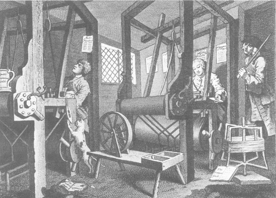Anglia już w XVIII wieku była liderem pod względem kultury technicznej (domena publiczna).