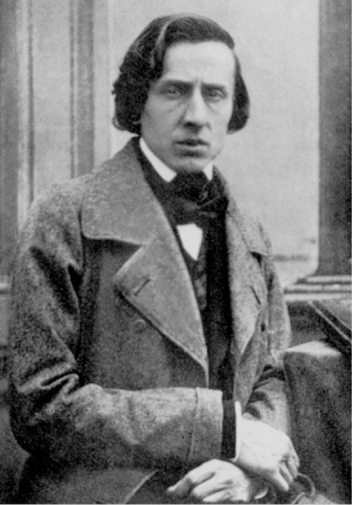 Fryderyk Chopin na zdjęciu wykonanym na krótko przed jego śmiercią (Louis-Auguste Bisson/domena publiczna).