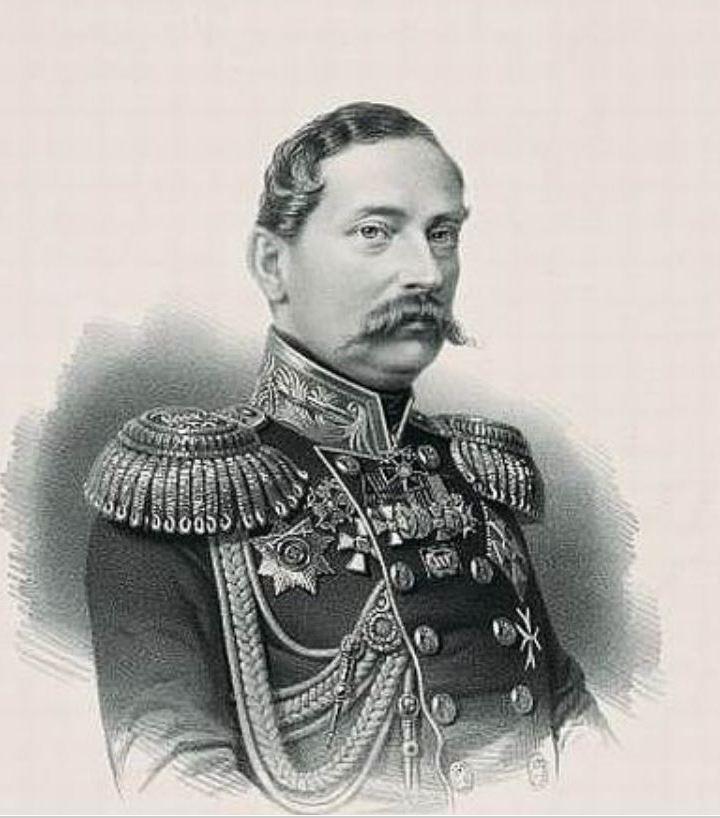 Adam Rzewuski zrobił wielką karierę w carskim wojsku (domena publiczna).