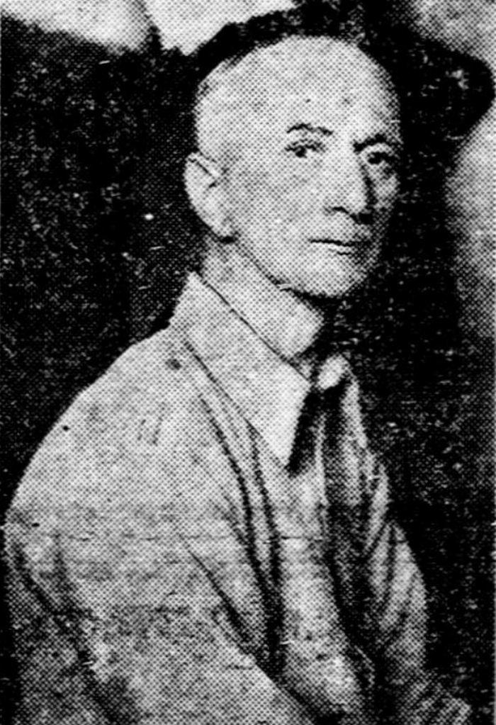 Podpułkownik Max Daume na zdjęciu wykonanym już po zakończeniu II wojny światowej (domena publiczna).