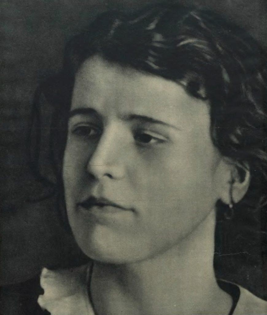 Rita na zdjęciu z okładki Tajnego Detektywa (domena publiczna).