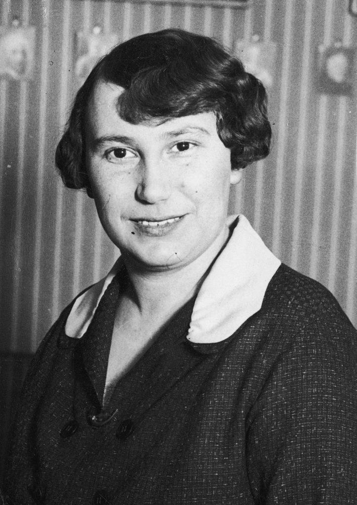 W przedwojennej Polsce tylko 9 kobiet zostało siędziami. Na zdjęciu pierwsza z nich Wanda Grabińska (domena publiczna).