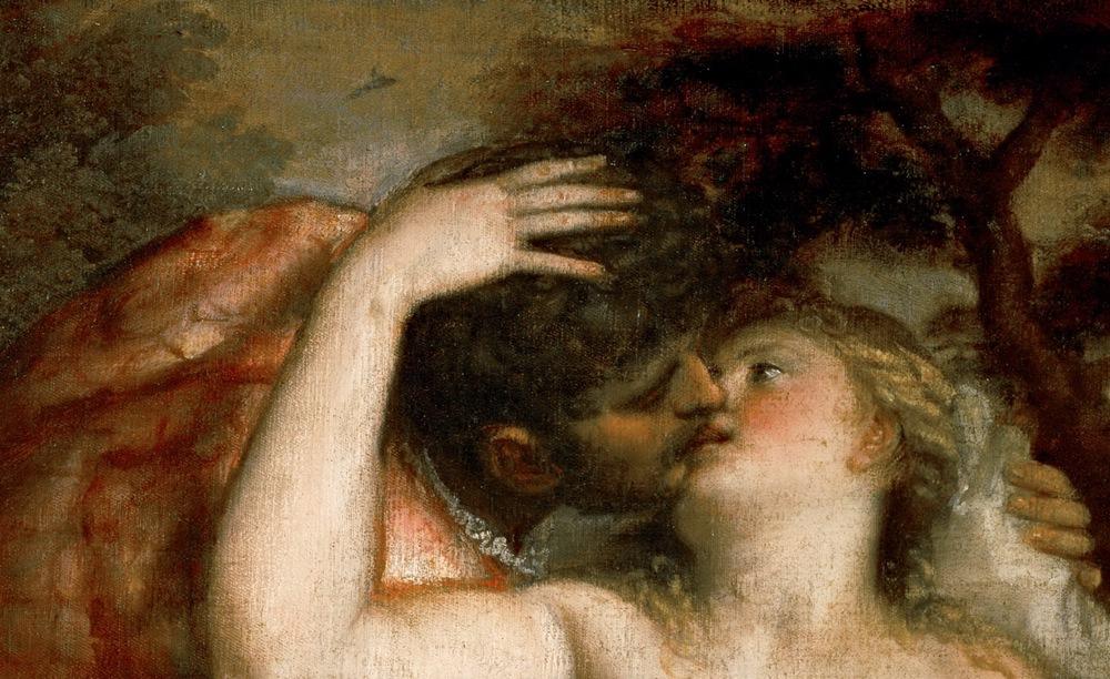 Wenus zdradzająca swojego męża z Marsem (Tycjan/domena publiczna).