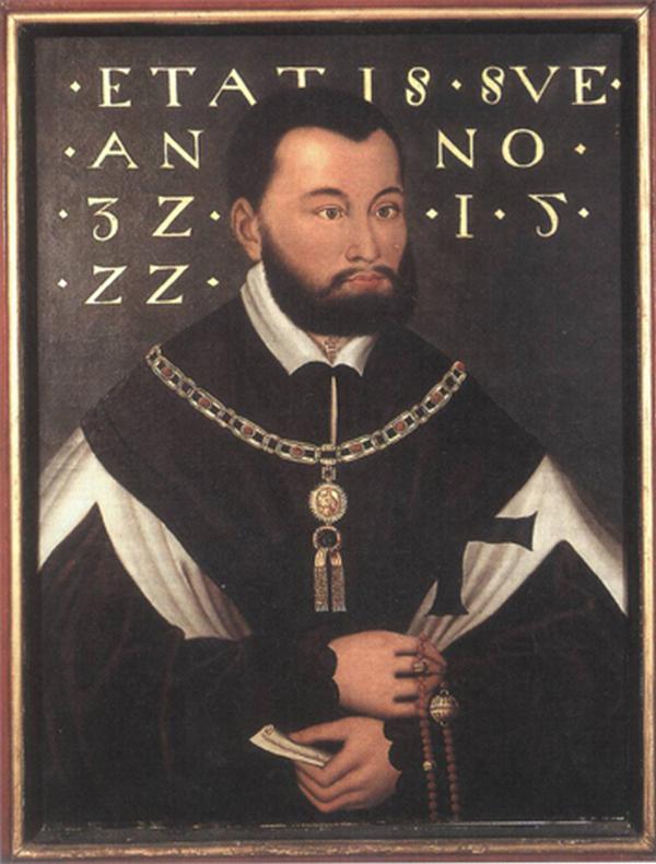 Albrecht Hohenzollern jeszcze jako wielki mistrz krzyżacki (Hans Krell/domena publiczna).