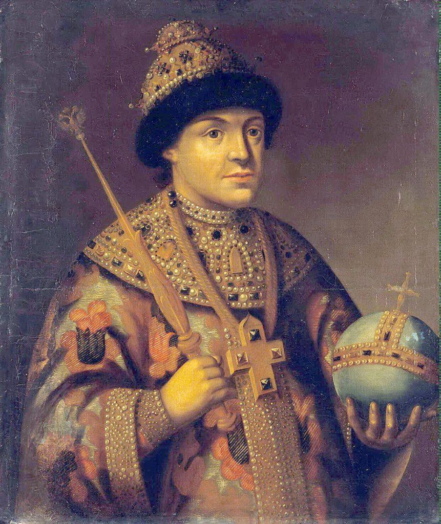 Car Fiodor III rządził Rosją w latach 1676-1682 (domena publiczna).