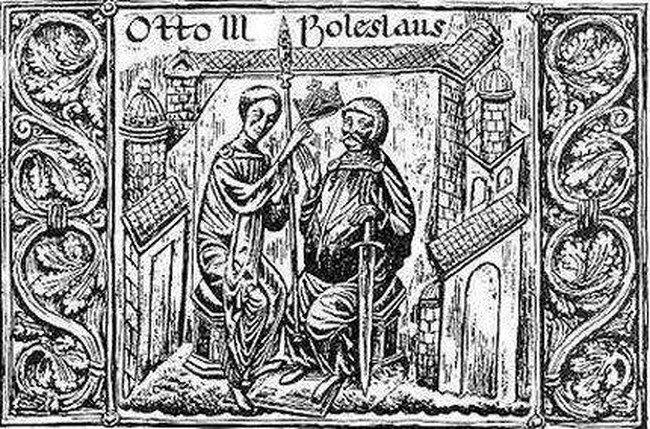 Historycy od lat spierają się o to, jak interpretować gest cesarza Ottona III (domena publiczna).