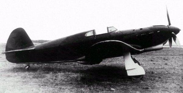 Jak-1. Właśnie taką maszyną latała Lidia (domena publiczna).