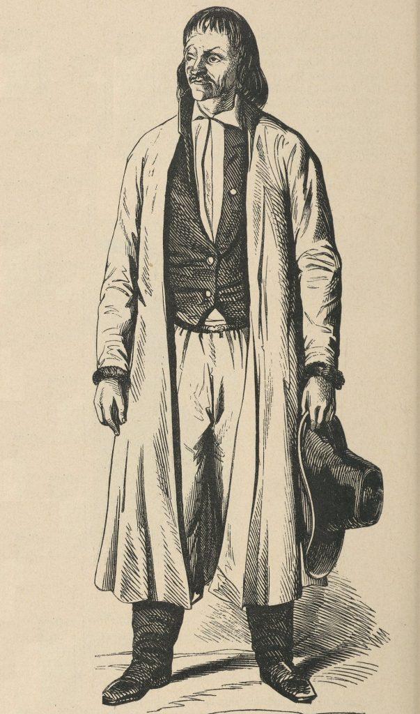 Jakub Szela na XIX-wiecznym rysunku (domena publiczna).