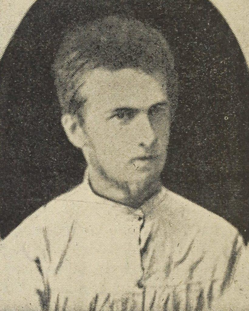 Józef Piłsudski w wieku 19 lat (domena publiczna).