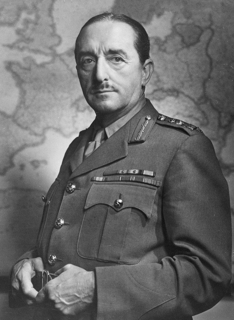 Marszalek Alan Brooke nie miał wątpliwości, że plan ataku na Armie Czerwoną nie ma szans powodzenia (Alan Brooke/CC BY-SA 3.0 nl).