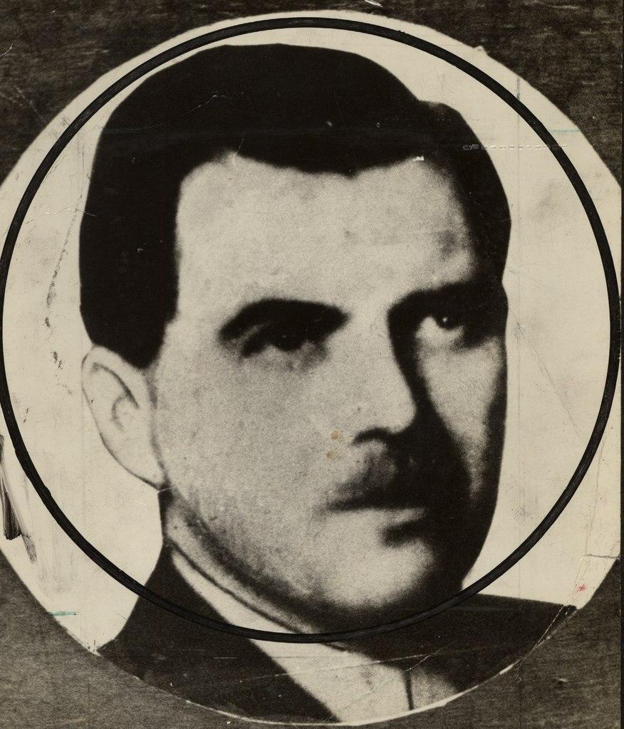 Josef Mengele na zdjęciu wykonanym już po wojnie (domena publiczna).