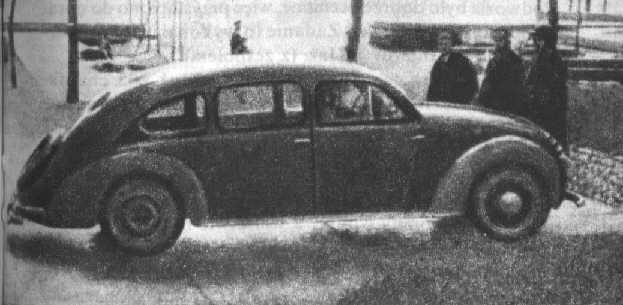 PZInż 403 LuxSport był bardzo nowoczesną konstrukcją (domena publiczna).