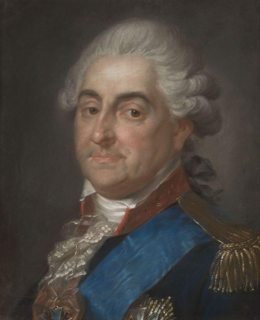 Stanisław Augus Poniatowski opuścił Warszawę 7 stycznia 1795 roku (Józef Pitschmann/domena publiczna).