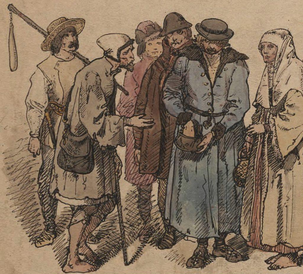 Druga połowa XV wieku przyniósła znaczne pogorszenie losu chłopów (Jan Matejko/domena publiczna).